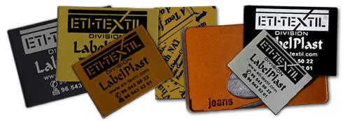 etiquetas sintéticas